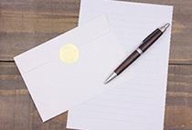 こだわりを見せることで好感を持てる手紙に