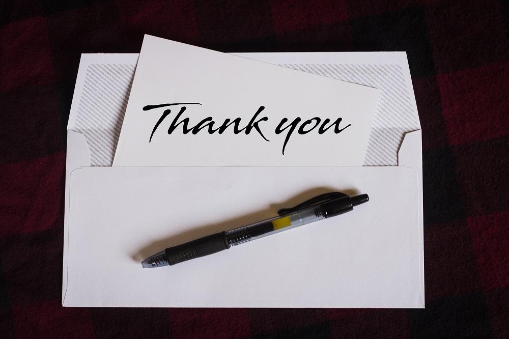 お礼状の書き方~文面での感謝だからこその価値とは~